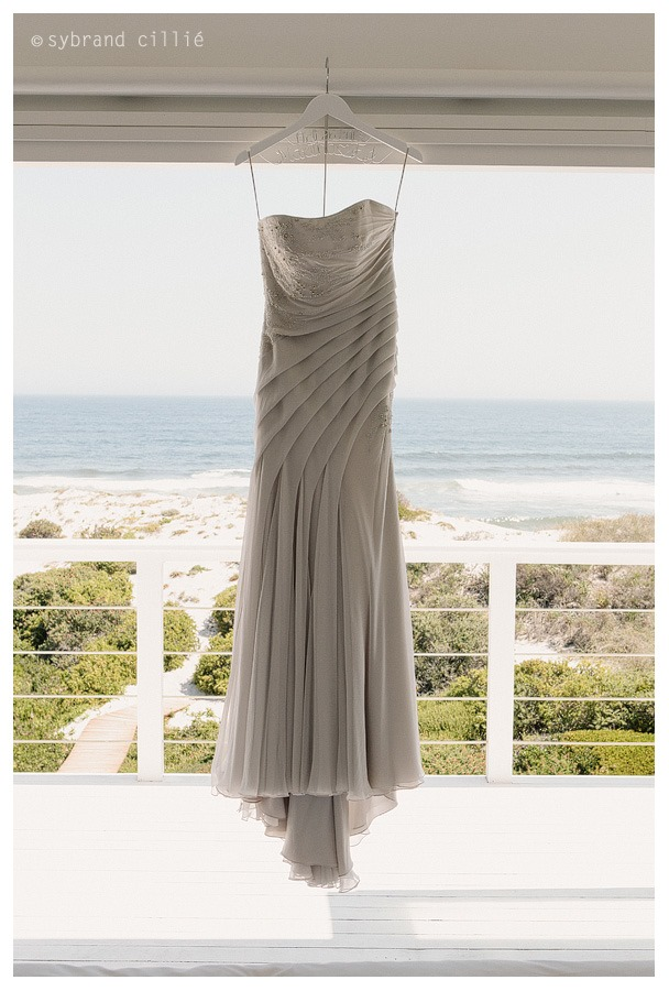Beautiful beach wedding at Strandombuis, Yzerfontein